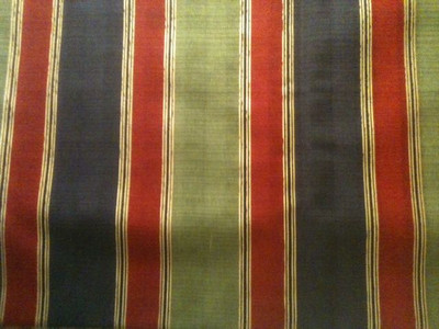 Red, Green, and Gold Stripes. This is a little heavier fabric than the others.