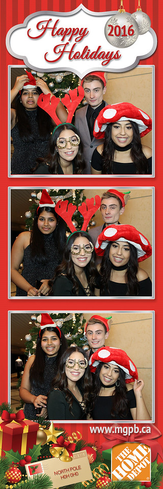 Photo Strips from Home Depot Holiday Party 2016 - #7003