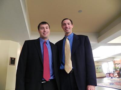 Daniel and David Timmons (nephews)