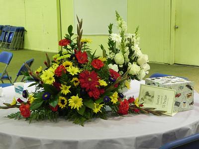 Arrangement at reception