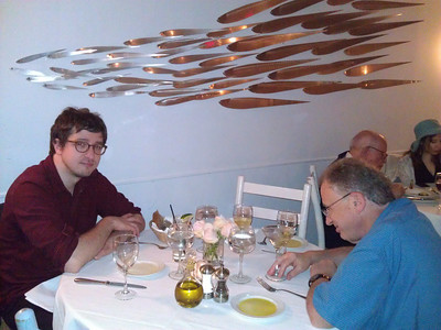 Dinner in an outstanding Greek restaurant