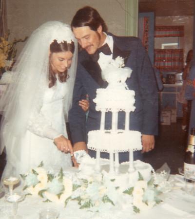 Tom & Carol's Wedding 9-11-1971
