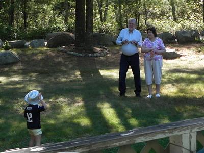 Madeline (Brady) Timmons, Johnny Johnson & Carol Timmons