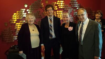 Lois Whelan; Brian, Margaret & Alan Gittis
