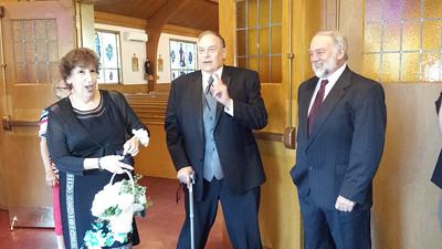 Judy Krause, Tom Timmons, Tom Krause