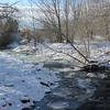"""11/11:  Temps plunge seriously sub-zero and Emigrant Creek begins to """"gel""""."""
