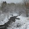 12/14:  The creek is back in winter wonderland mode.