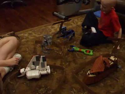 Lego Star Wars Mega Battle