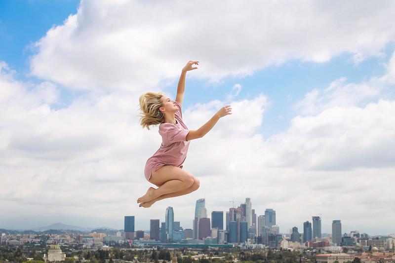 on top of LA