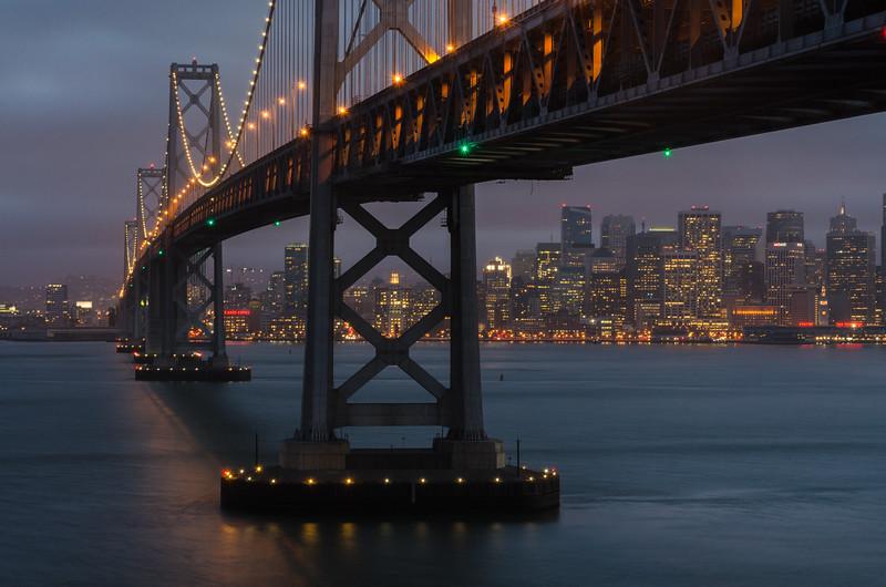 The Bay Bridge, San Francisco, CA