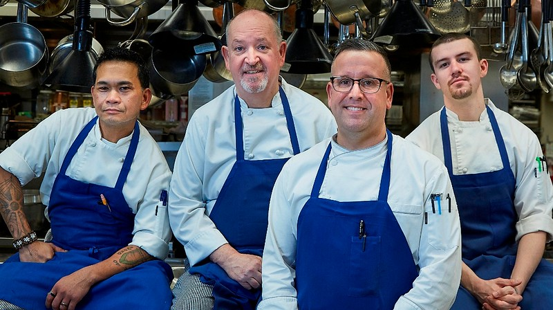 Chefs at Rainier Club