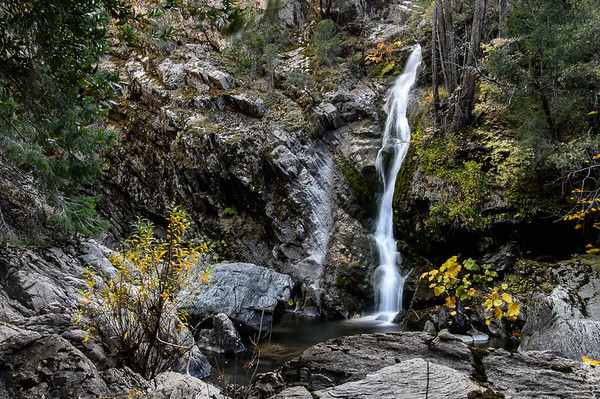 One of the many falls in Blue Canyon