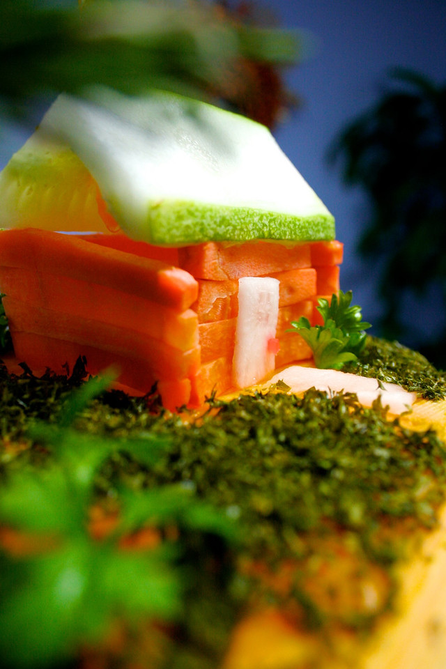 Edible house