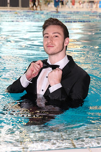 Olympic gold medal winning diver, Matt Mitcham, before his appearance on Dancing with the Stars.