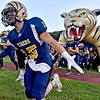 (Brad Davis/The Register-Herald) The Tigers take the field for a home game against Indy Thursday night in Shady Spring.