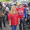 NASCAR's Kyle Petty poses with a fan during a stop at the Canyon Rim Visitor Center Thursday. The Kyle Petty Charity Ride Revival is reuniting riders after more than two years apart due to the COVID-19 pandemic. The organization raises funds for Victory Junction and other charities that support chronically ill children.  Jenny Harnish/The Register-Herald