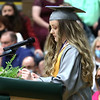 Wyoming East valedictory address by Chloe Cook.<br /> Jim Cook for the Register-Herald