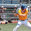 Alderson Broaddus University's Joey Alcorn eyes the ball during the game against Charleston University in the Mountain East Conference Tournament at Linda K. Epling Stadium in Beckley Saturday. Jenny Harnish for the Register-Herald