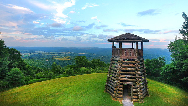 Droop Mountain Battlefield State Park in Pocahontas County. This was the site of the last major conflict of the Civil War in West Virginia on Nov. 6, 1863. (Photo by Jenny Harnish)