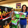 Emily Bush, owners of WV Fireworks Outlet in Crab Orchard<br /> (Rick Barbero/The Register-Herald)