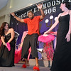 (Brad Davis/The Register-Herald) Kelvin Pannell during the annual Hunks in Heels fundraising event for the Women's Resource Center Friday night at the Beckley Moose Lodge.