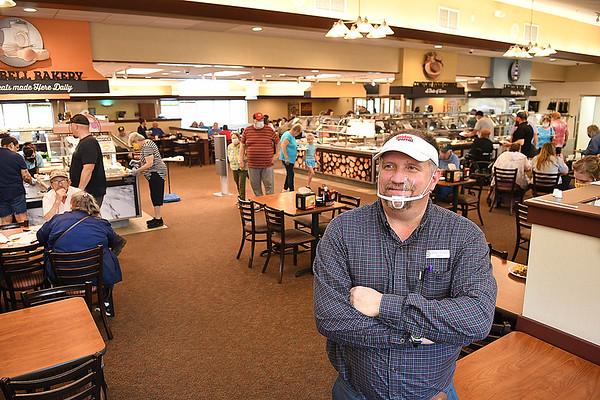 Eddie Torrico, owner of Golden Coral in Beckley.<br /> Rick BArbero/The Register-Herald)