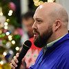 Jeff Miller speaks during the 11th annual United Way of Southern West Virginia's Wonderland of Trees Auction at the J.W. And Hazel Ruby West Virginia Welcome Center in Mt. Hope on Friday. (Chris Jackson/The Register-Herald)