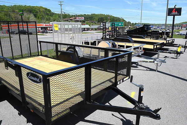 Utility Trailer available at Leonard Building Truck & Accessories on 3788 Robert C Byrd Drive in Beckley.<br /> (Rick Barbero/THe Register-Herald)