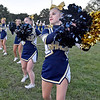 (Brad Davis/The Register-Herald) Shady Spring cheerleaders perform Thursday night in Shady Spring.