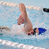 (Brad Davis/The Register-Herald) Shady Spring's Ilya Vitvitsky competes in the 50 meter freestyle event during the Southern Coalfields Classic Invitational Saturday afternoon at the YMCA of Southern West Virginia.