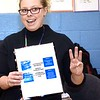 "Audrey Williams, technology intergration specialist Raleigh County School, explains the four station during a Legacy Lab class at Cranberry-Prosperity School. Cranberry Prosperity has been awarded with the status of being an ""Apple Distinguished School"" for being top notch with technology use in their classrooms.<br /> (Rick Barbero/The Register-Herald)"