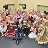(Brad Davis/The Register-Herald) Jerry Rose and the cast of this year's Nutcracker production.