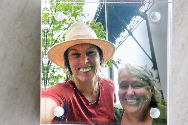 Danielle Lilly, of Shady Spring, in a photo with her mother Marsha Ricketts who died of COVID-19 in August.  Submitted photo