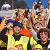 Woodrow Wilson student section during game against Princeton Friday night at VanMeter Stadium in Beckley.<br /> (Rick Barbero/The Register-Herald)