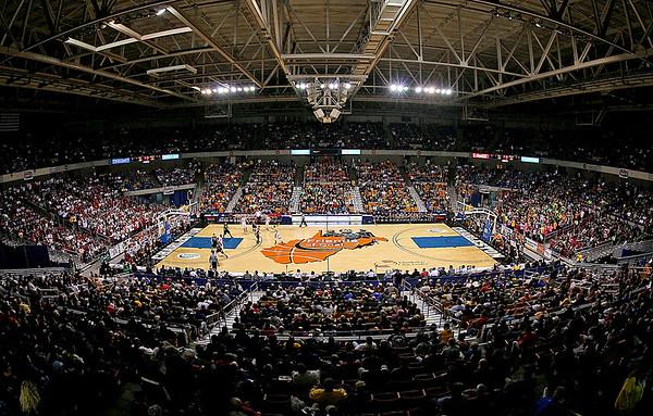 Brad Davis/The Register-Herald 2015 West Virginia State Boys High School Basketball Tournament, Charleston, WV, March 20.