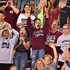(Brad Davis/The Register-Herald) Young Woodrow Wilson fans react to events on the field Friday night in Beckley.
