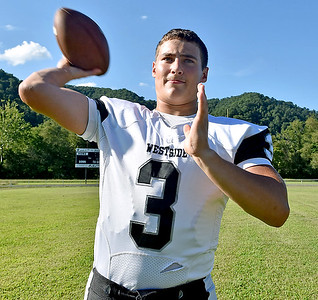 (Brad Davis/The Register-Herald) Westside junior quarterback Josh Morgan steps into the starting role for the Renegades in 2016.