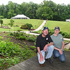 John and Tabitha Henderson operates a catering service out of Athena Farm and Vineyard's kitchen.<br /> (Rick Barbero/The Register-Herald)