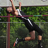 Daniel Reed, Westside senior, competes in the high jump during a track meet at Woodrow. Reed won both the high jump and long jump. Jon C. Hancock/for The Register-Herald
