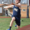(Brad Davis/The Register-Herald) Nicholas County's Jacob O'Dell competes in the long jump during the Dickey's Invitational Friday afternoon at Independence High School.