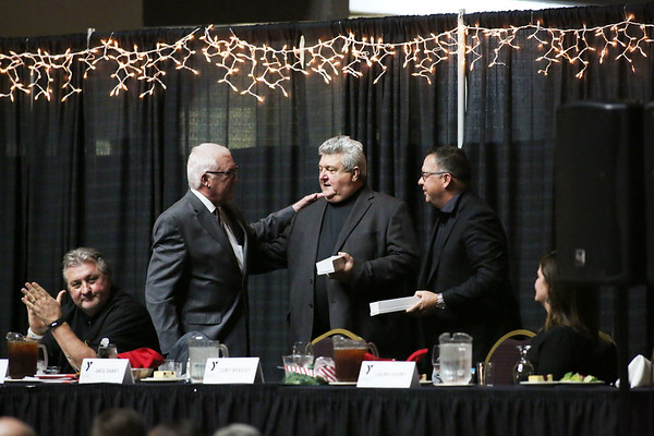 The 32nd Annual Spirit of Beckley Awards Presentation at the Beckley-Raleigh County Convention Center in Beckley on Monday. (Chris Jackson/The Register-Herald)
