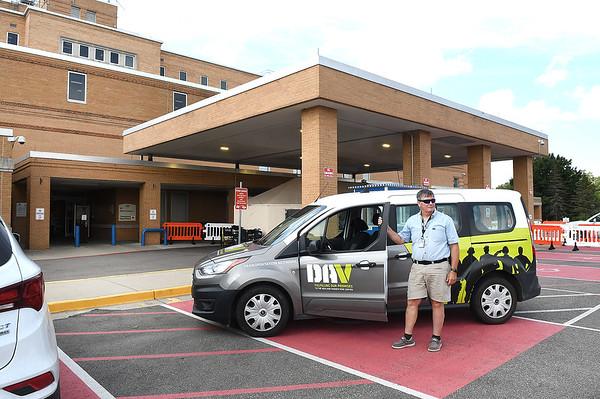 Barry McCoy, volunteer escort driver Beckley VA Medical Center.<br /> (Rick Barbero/The Register-Herald)