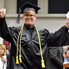 (Brad Davis/The Register-Herald) Graduating Westside senior Wesley Dickenson during the school's 2017 Commencement Sunday afternoon in Clear Fork.