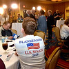 (Brad Davis/The Register-Herald) A young supporter of republican U.S. Senate candidate Don Blankenship waits for results to come in during the early stages of his results party Tuesday night at the Charlseton Marriott.
