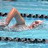 (Brad Davis/The Register-Herald) Woodrow Wilson's Sophia Domingo competes in the 200 meter freestyle event during the Southern Coalfields Classic Invitational Saturday afternoon at the YMCA of Southern West Virginia.