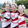 Oak Hill Red Devil Cheerleaders at Midland Trail <br /> Submitted photo by Sarah Garland