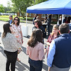 Business After Hours held at City National Bank on Park Ave in Beckley Thursday evening. They held a cookout catered by the Corner Gas & Grill and live music. The event was sponsored by the Beckley-Raleigh County Chamber of Commerce.<br /> (Rick Barbero/The Register-Herald)