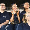 Greenbrier West cheerleaders during game against  James Monroe Friday evening at Greenbrier West High School.<br /> (Rick Barbero/The Register-Herlad)