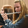 (Brad Davis/The Register-Herald) The Southern West Virginia Gold Honor Band performs Saturday afternoon inside the Woodrow Wilson High School Auditorium.