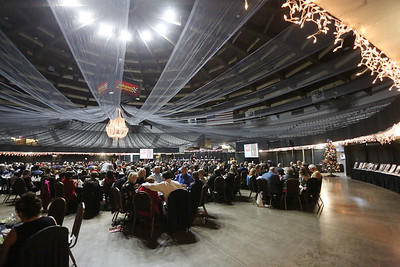 Hundreds gather for the 32nd Annual Spirit of Beckley Awards Presentation at the Beckley-Raleigh County Convention Center in Beckley on Monday. (Chris Jackson/The Register-Herald)